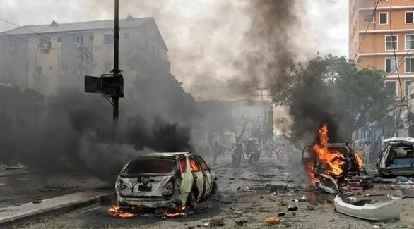 انفجار سابق في مقديشو (أرشيف)