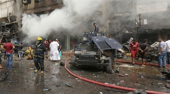 انفجار سابق في العراق (أرشيف)
