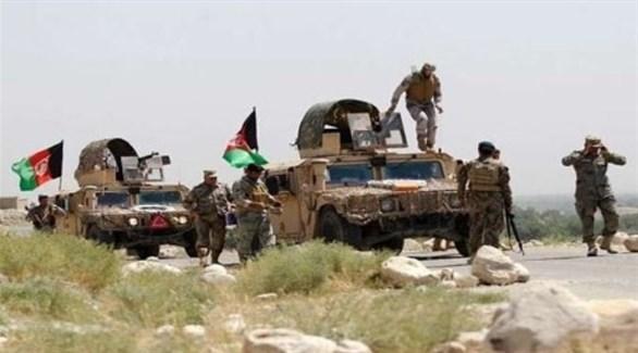 رتل عسكري للجيش الأفغاني (أرشيف)