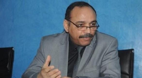 عضو هيئة تسيير حزب جبهة التحرير الوطني الجزائري الحاكم حسين خلدون (الخبر)