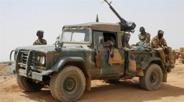 ورية للجيش الماليّ في منطقة مناكا شرق البلاد(أرشيف)