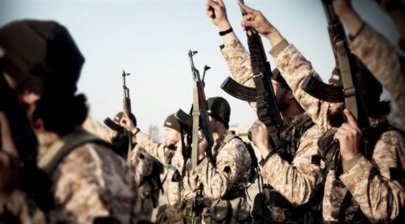 مقاتلون في داعش الإرهابي (أرشيف)