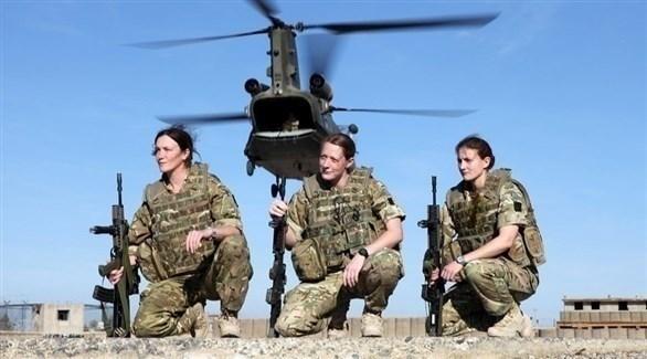 عناصر من الجيش البريطاني (الجيش الوطني البريطاني)