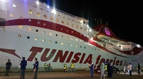 سلطات الأمن التونسية تطوق ميناء حلق الوادي (أرشيف)