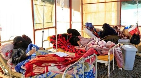 إصابات بالكوليرا في اليمن (أرشيف)