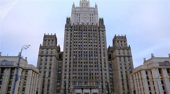 مبنى الخارجية الروسية في موسكو (أرشيف)