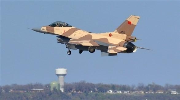 مقاتلة من طراز إف 16 لسلاح الجو المغربي (أرشيف)