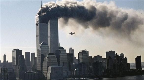 وصول الطائرة الثانية لضرب مركز التجارة العالمي (أرشيف / ماساتومو كوريا)