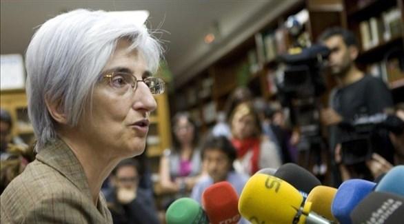 النائب العام الإسبانية ماريا خوسيه سيغارا (أرشيف)