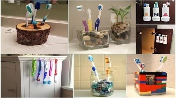 أفكار عصرية لتخزين فرشاة الأسنان (أميزنغ إنتيرير ديزاين)