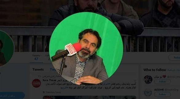 الصحافي العراقي رغدان الخزعلي (تويتر)