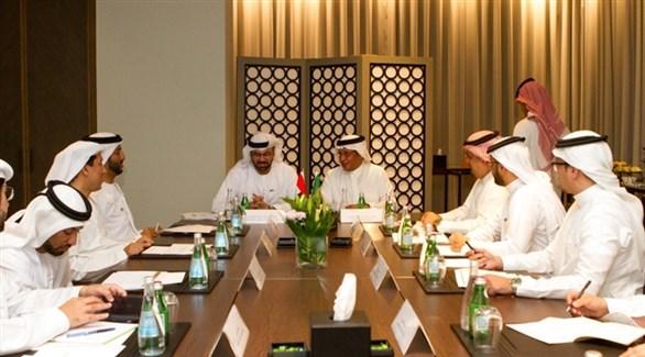 اجتماع لمجلس التنسيق السعودي الإماراتي (أرشيف)