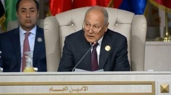 الأمين العام للجامعة العربية أحمد أبو الغيط (تويتر)
