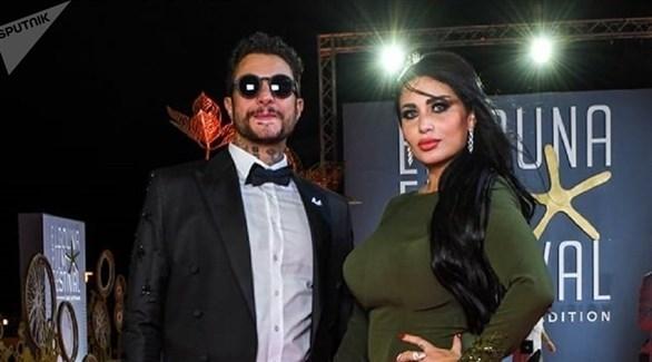 أحمد الفيشاوي وزوجته ندى الكامل (أرشيف)