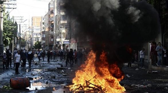 اضطرابات سابقة في دياربكر التركية ذات الغالبية الكردية (أرشيف)