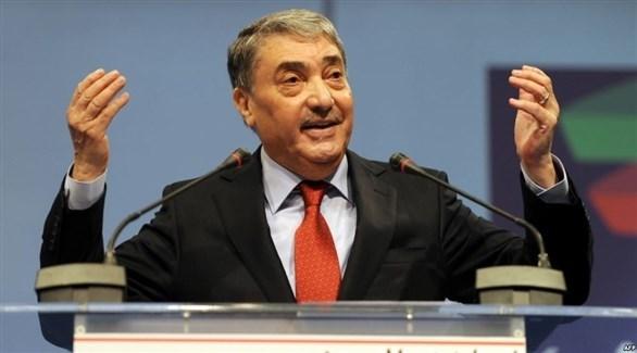 المرشح الرئاسي الجزائري السابق علي بن فليس (أرشيف)