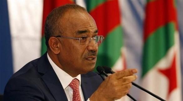 رئيس الوزراء الجزائري نور الدين بدوي (أرشيف)