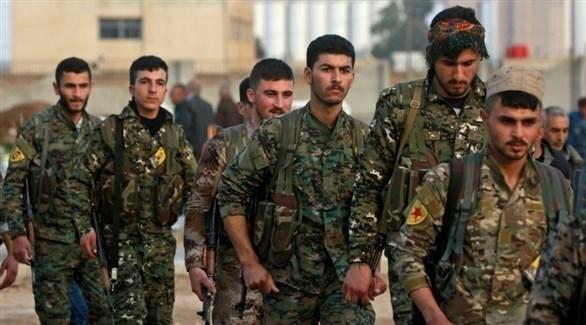 مقاتلون في صفوف قوات سوريا الديمقراطية (أرشيف)