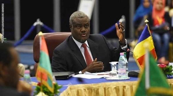 رئيس الاتحاد الأفريقي موسى فقّي(أرشيف)