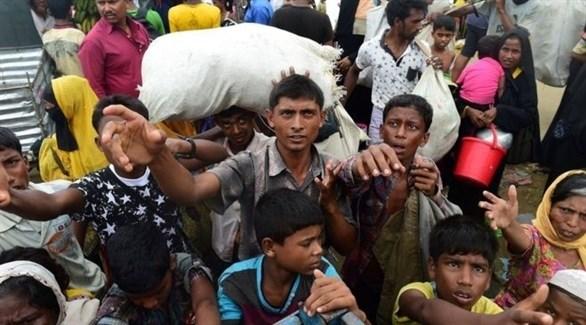 لاجئون من إقلية الروهينجا المسلمة في بنغلاديش (أرشيف)