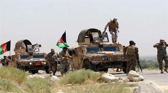 قوات أفغانية خلال عمليات عسكرية في إقليم هلمند (أرشيف)