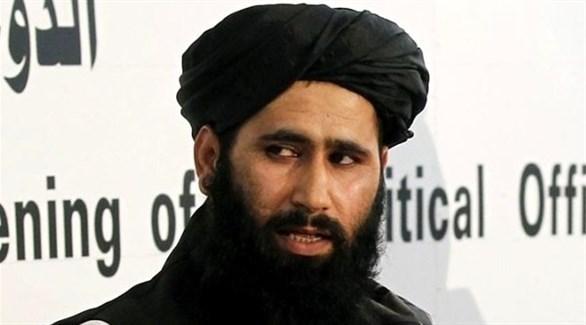 المتحدّث باسم حركة طالبان ذبيح الله مجاهد (أرشيف)