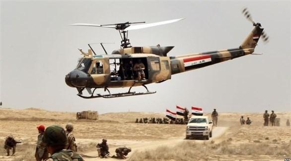 الجيش العراقي خلال اشتباكات مع تنظيم داعش جنوب الموصل (أرشيف)