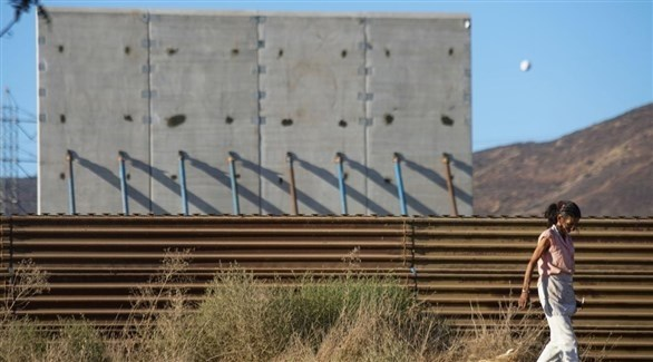 جدار ترامب الحدودي مع المكسيك (أرشيف)