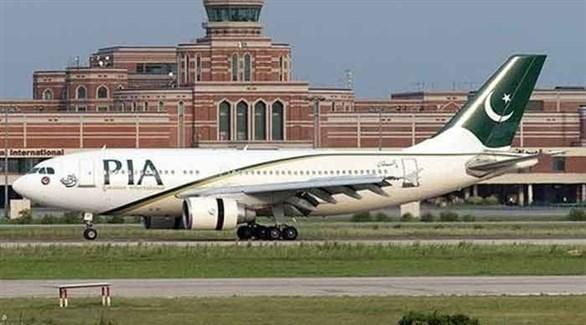 طائرة باكستانية على مدرج مطار لاهور (أرشيف)