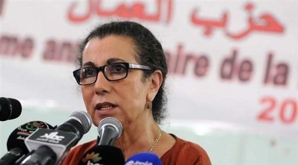 رئيسة حزب العمال الجزائري المعارض لويزة حنون (أرشيف)