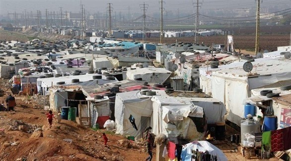 مخيم للنازحين السوريين في لبنان (أرشيف)