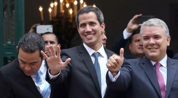 زعيم المعارضة في فنزويلا خوان غوايدو (أ ف ب)
