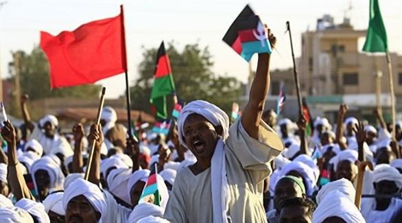 جانب من احتجاجات السودان (أ ف ب)