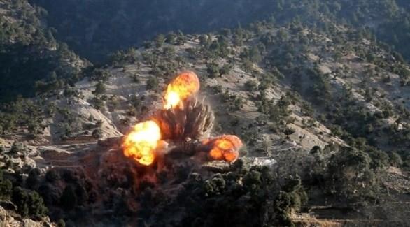 غارات جوية على مناطق طالبان (خاما برس)