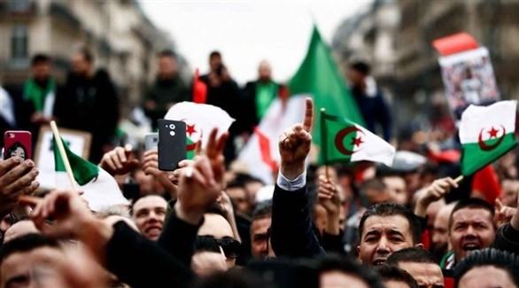 جانب من احتجاجات الجزائر (رويترز)