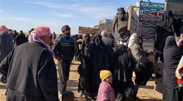 إجلاء مدنيين سوريين من الباغوز (أرشيف)