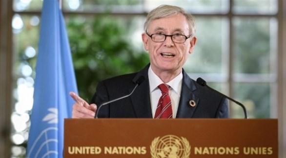 مبعوث الأمم المتحدة الى الصحراء الغربية هورست كولر (أ ف ب)