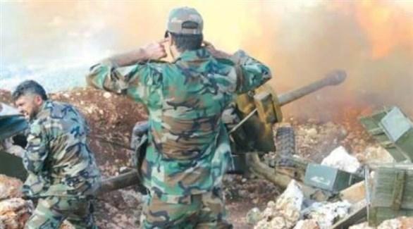 مدفعية الجيش تقصف أهدافاً في سوريا (أرشيف)