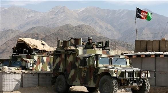 جندي أفغاني عند نقطة مراقبة (أرشيف)