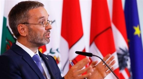 وزير الداخلية النمساوي هيربرت كيكل (أرشيف)