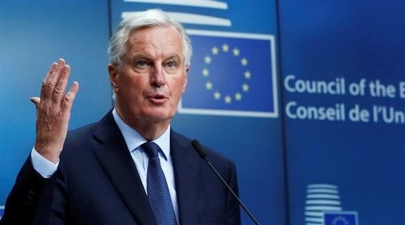 كبير مفاوضي الاتحاد الأوروبي للبريكست البريطاني ميشال بارنييه (أرشيف)