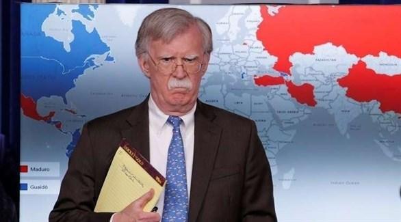 مستشار البيت الأبيض للأمن القومي جون بولتون(أرشيف)