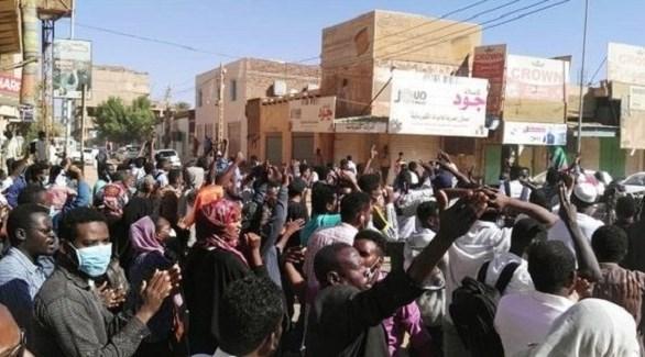 مظاهرات ضد حكومة البشير في السودان (أرشيف)
