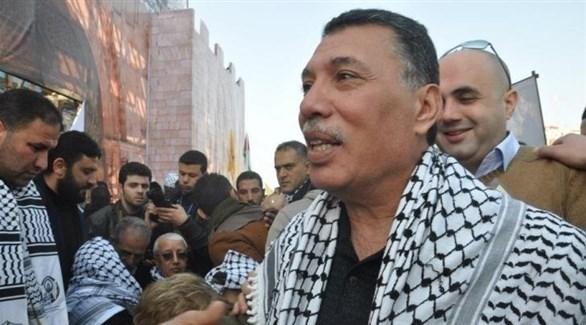 عضو اللجنة المركزية لحركة فتح أحمد حلس الذي تعرض لمحاولة اغتيال في غزة أمس (أرشيف)