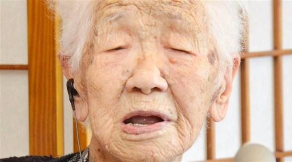 المعمرة اليابانية كاني تاناكا (أرشيف)