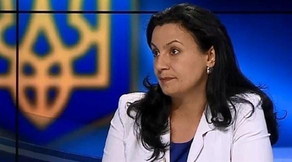 نائبة رئيس الوزراء الأوكراني إيفانا كليمبوش تسينتسادزي (أرشيف)
