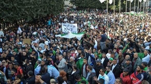 احتجاجات في الجزائر ضد ترشح بوتفليقة لولاية خامسة (أرشيف)