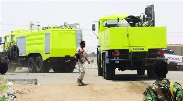 الدفاع المدني في عدن (أرشيف)