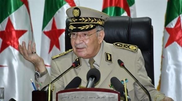 قائد الجيش الجزائري الفريق أحمد قايد صالح (أرشيف)