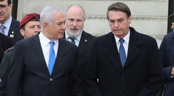 الرئيس البرازيلي جايير بولسونارو ورئيس الوزراء الإسرائيلي بنيامين نتانياهو (أرشيف)